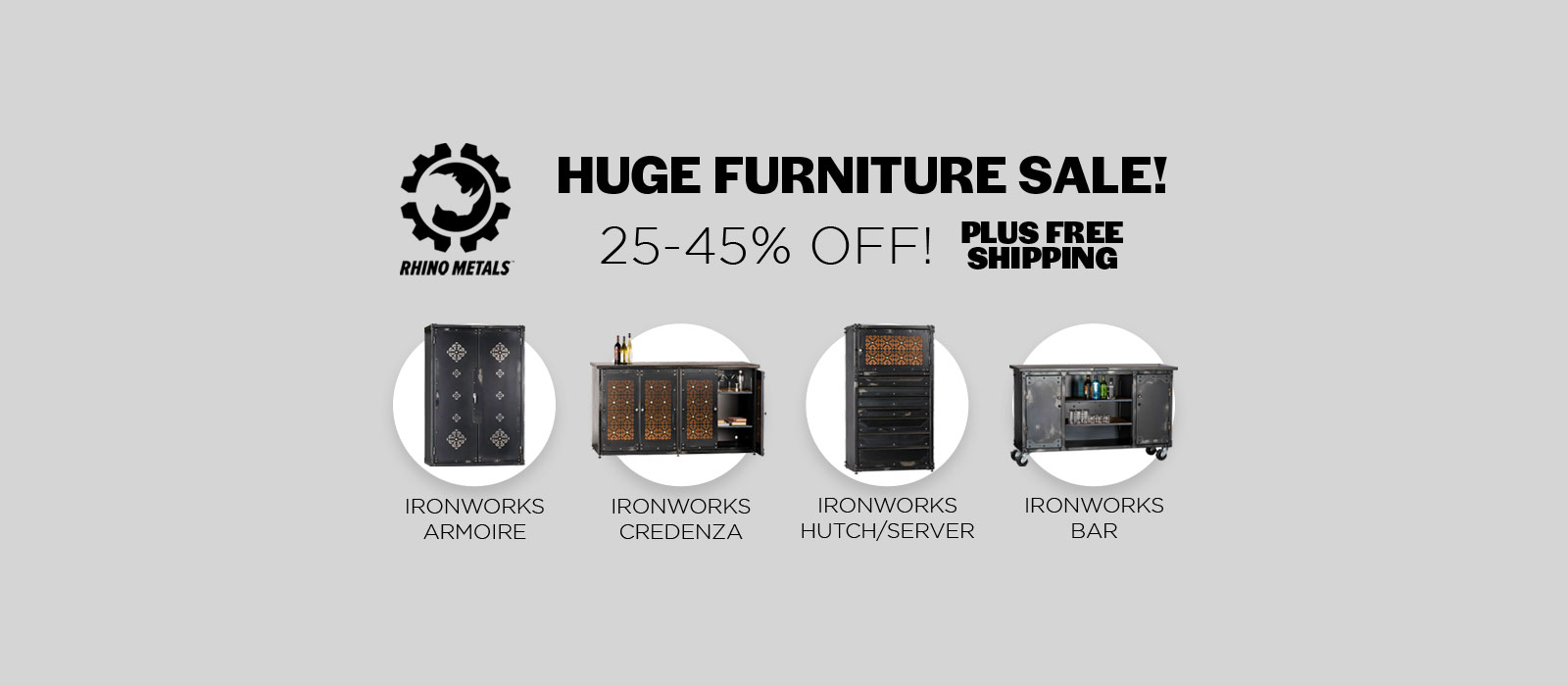Huge Furniture Sale! - Up to 45% off Plus free shipping!