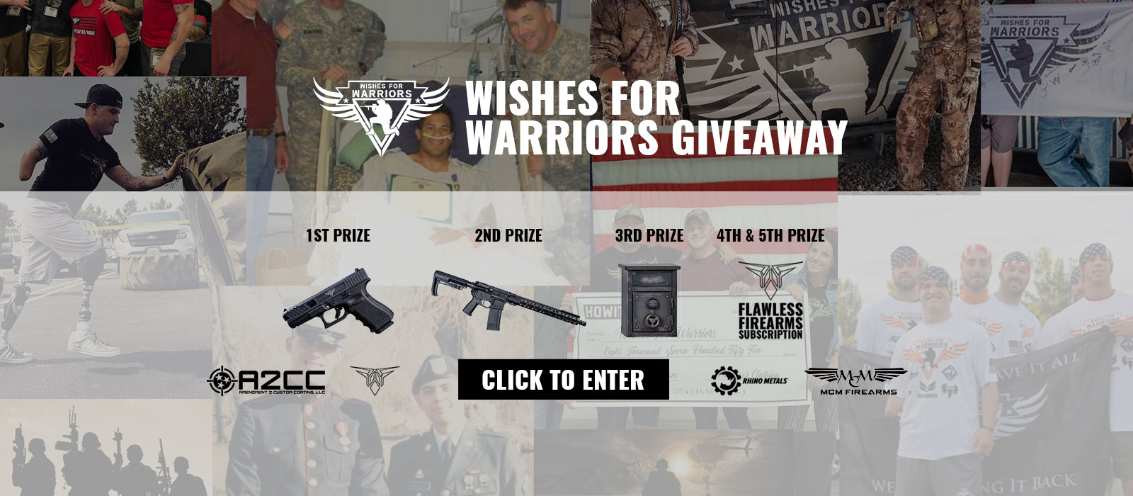 Wishes 4 warriors giveaway